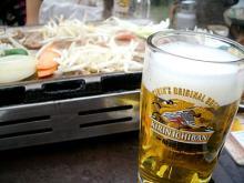 森のジンギスカン&ビール