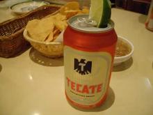 メキシコ料理屋でテカテ