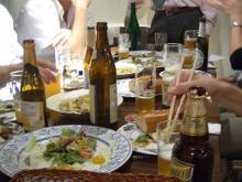 ビールと料理