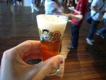 ビール1杯目