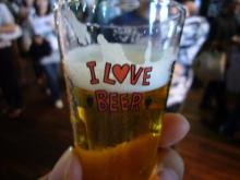 ビール16杯目