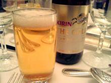 ビールはキリンザゴールド