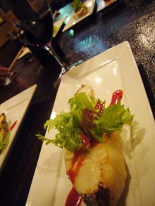 ワインと西京焼き