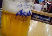 生ビールはアサヒ