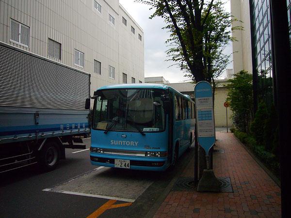 ブルーのバス