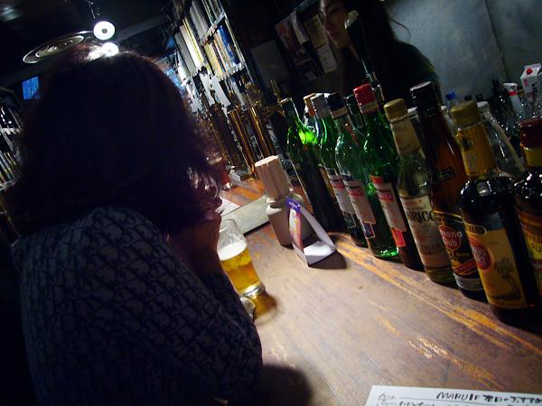 Stand bar maru カウンター