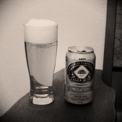 生ビールブログ -とりあえず生!--キリンビール 明治のラガー