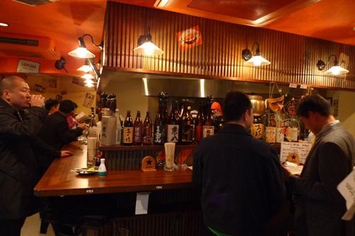 生ビールブログ -とりあえず生!--ファイト酒場店内