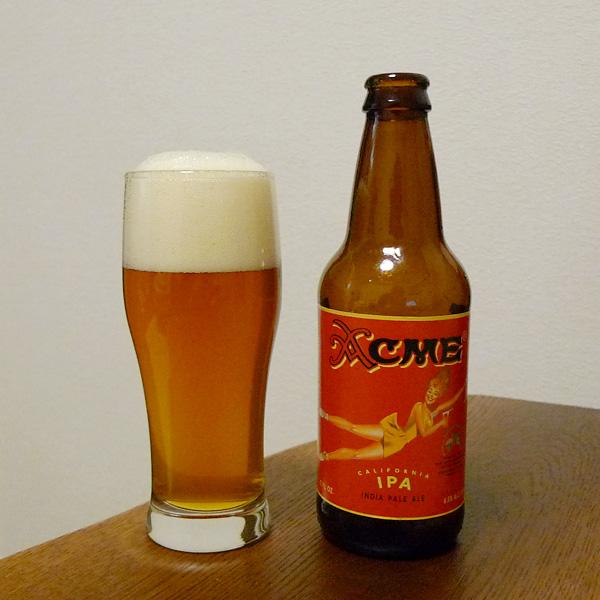 生ビールブログ -とりあえず生!--アメリカ Acme India Pale Ale