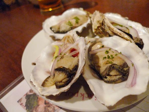 生ビールブログ -とりあえず生!--牡蠣の燻製