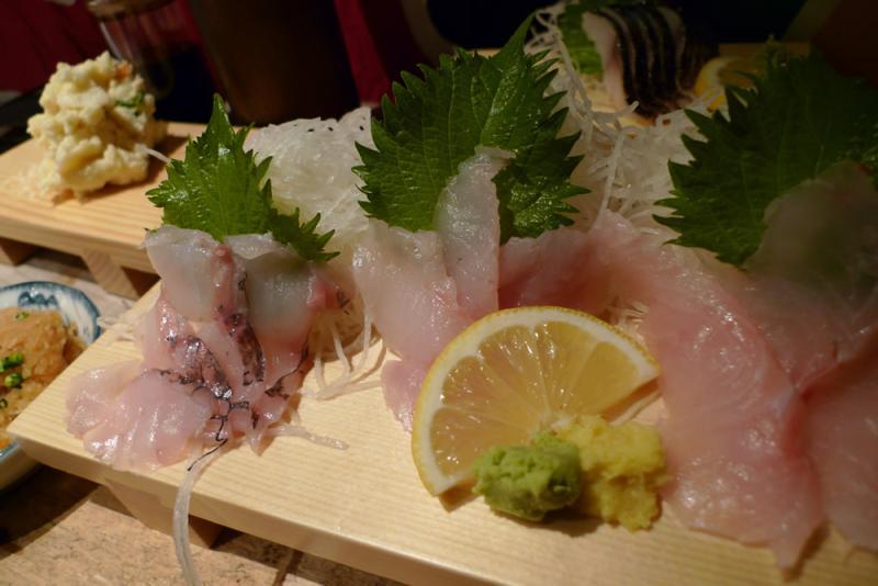 生ビールブログ -とりあえず生!--白身魚三種