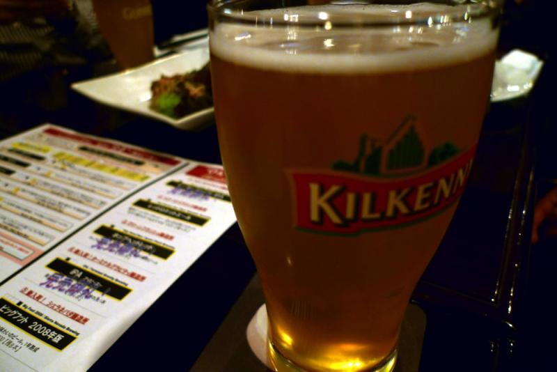 生ビールブログ -とりあえず生!--銀座 BULLDOG でビール
