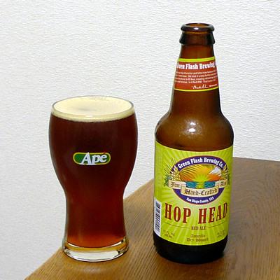 生ビールブログ -とりあえず生!--Green Flash Brewing HOP HEAD RED ALE