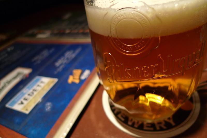 生ビールブログ -とりあえず生!--樽生のピルスナー・ウルケル