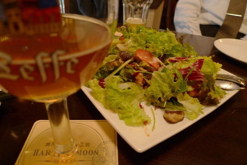 生ビールブログ -とりあえず生!--白豆のシーザーサラダ
