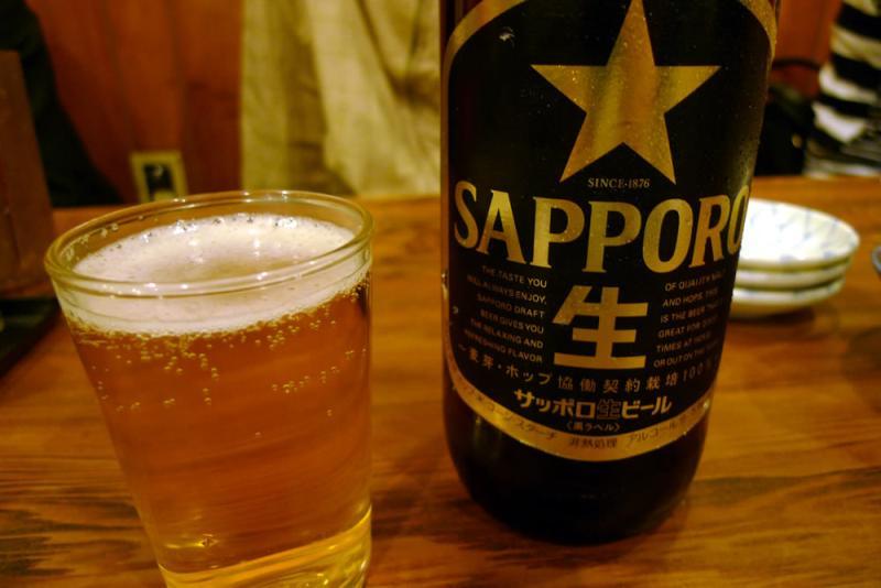 生ビールブログ -とりあえず生!--サッポロ黒ラベルin酒とめし みうら