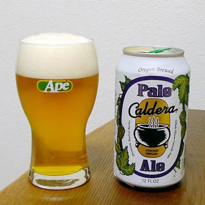 生ビールブログ -とりあえず生!--アメリカ Caldera Brewing Company ペールエール
