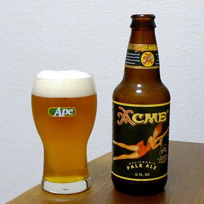 生ビールブログ -とりあえず生!--North Coast Brewing アクメ ペールエール
