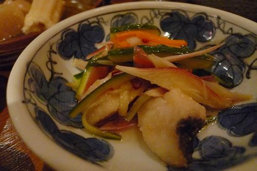 生ビールブログ -とりあえず生!--揚げ魚と野菜の南蛮漬け