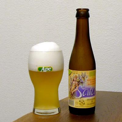 生ビールブログ -とりあえず生!--ベルギー マローヌ醸造所 Sara Organick