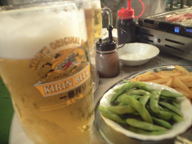 生ビールブログ -とりあえず生!--ビアガーデンで飲む