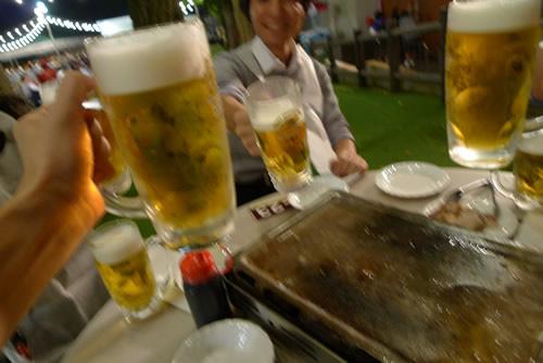 生ビールブログ -とりあえず生!--森のビアガーデン
