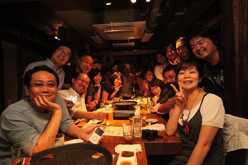 生ビールブログ -とりあえず生!--豚組 X ONEDARI BOYS 3周年記念オフ会!