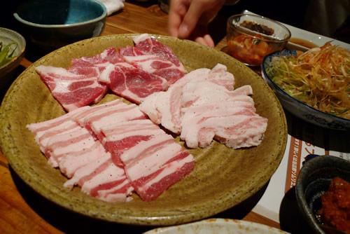 生ビールブログ -とりあえず生!--豚肉 バラとかトントロとか