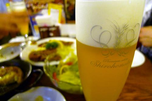 生ビールブログ -とりあえず生!--銀座ライオンの白穂乃香