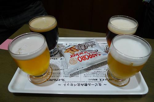 生ビールブログ -とりあえず生!--飲み比べセット