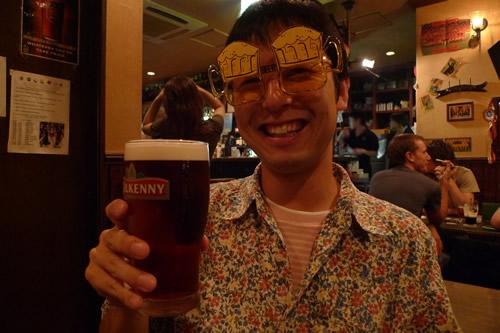 生ビールブログ -とりあえず生!--麦酒男&サングラス