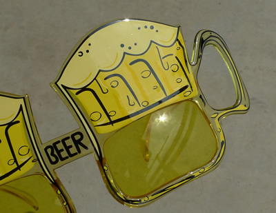 生ビールブログ -とりあえず生!--ビールサングラス