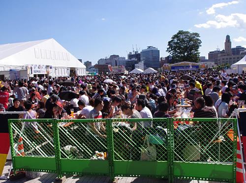 生ビールブログ -とりあえず生!--横浜オクトーバーフェスト2009