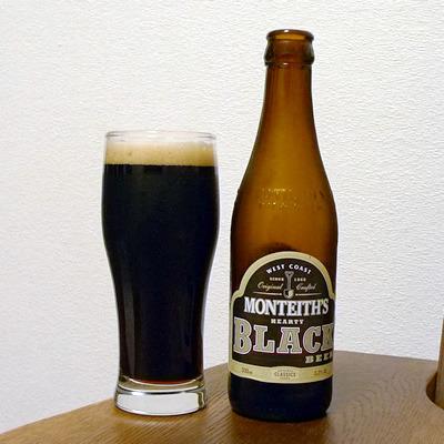 生ビールブログ -とりあえず生!--ニュージーランド モンティース・ブラック