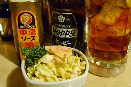 生ビールブログ -とりあえず生!--マカロニサラダ&ソース