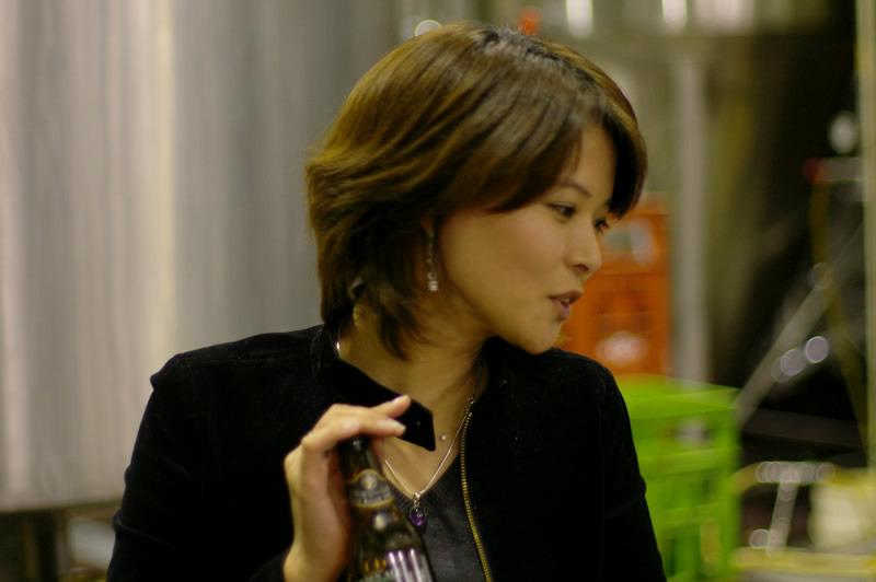 生ビールブログ -とりあえず生!--サンクトガーレン広報の中川美希さん