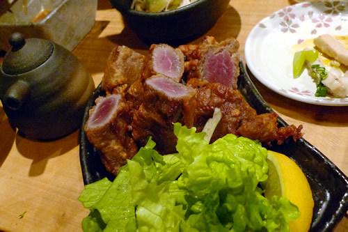 生ビールブログ -とりあえず生!--桜肉の唐揚げ