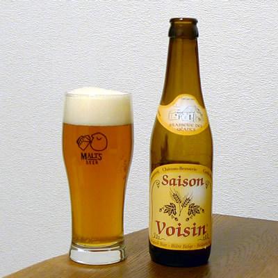 生ビールブログ -とりあえず生!--ベルギー セゾン・ヴォアザン