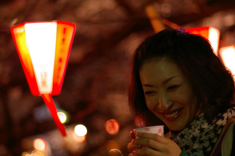 生ビールブログ -とりあえず生!--夜桜とホットワイン