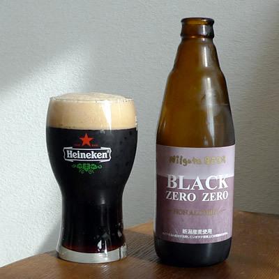 生ビールブログ -とりあえず生!--新潟麦酒 ノンアルコール BLACK