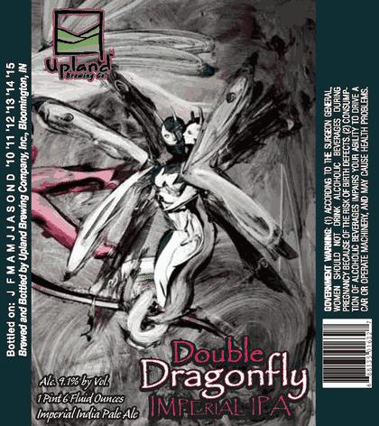 生ビールブログ -とりあえず生!--Upland Double Dragonfly Impeal IPA