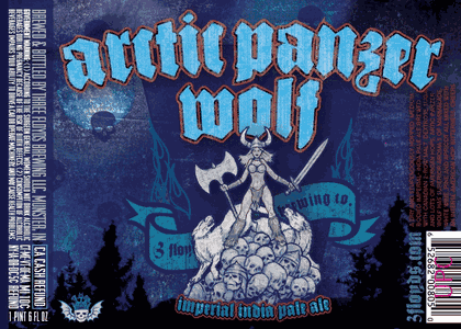 生ビールブログ -とりあえず生!--3floyds arctic panzer wolf