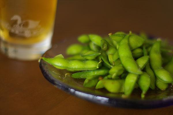 ビールは枝豆