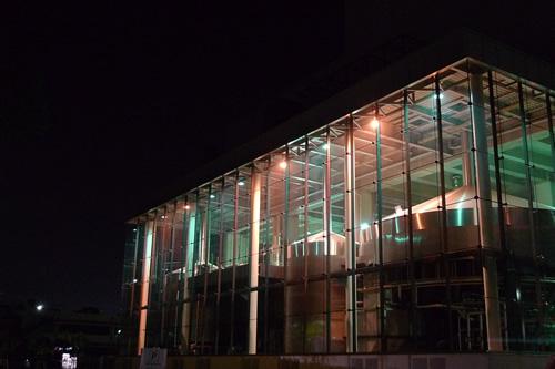 夜の武蔵野ビール工場