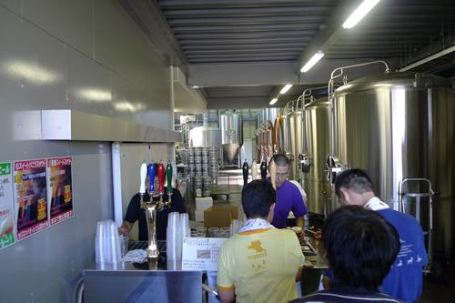 サンクトガーレン ビール工場