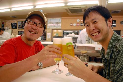 エーデルピルスで乾杯!