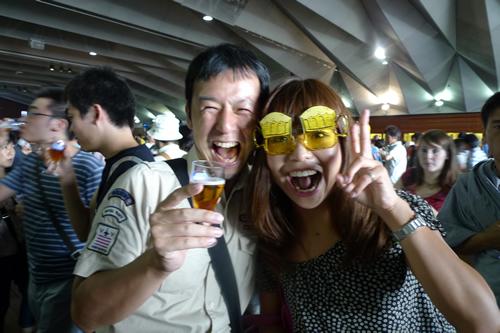 麦酒×笑顔