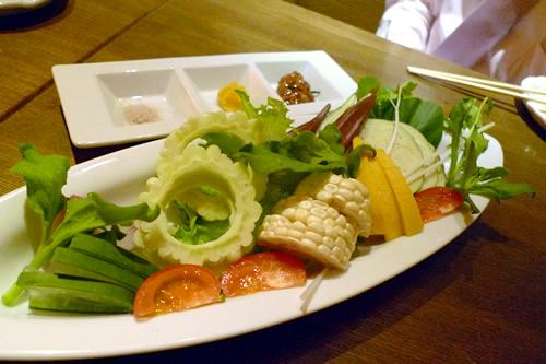旬野菜のまるかじり