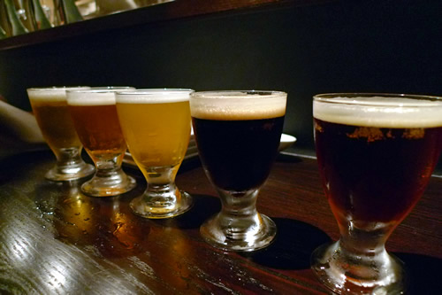 五色のビール COEDOビール