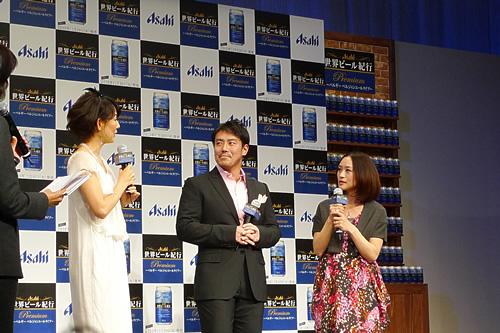 とよた真帆さん、皆川賢太郎さん、上村愛子さん
